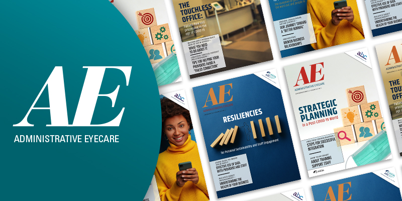 Administrative Eyecare: Editorial Preview